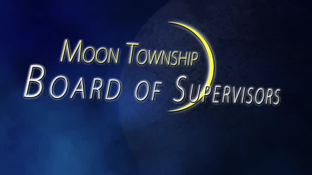 Moon Supervisors Meeting August 3, 2016